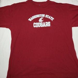Washington State University cougars t-shirt. L.